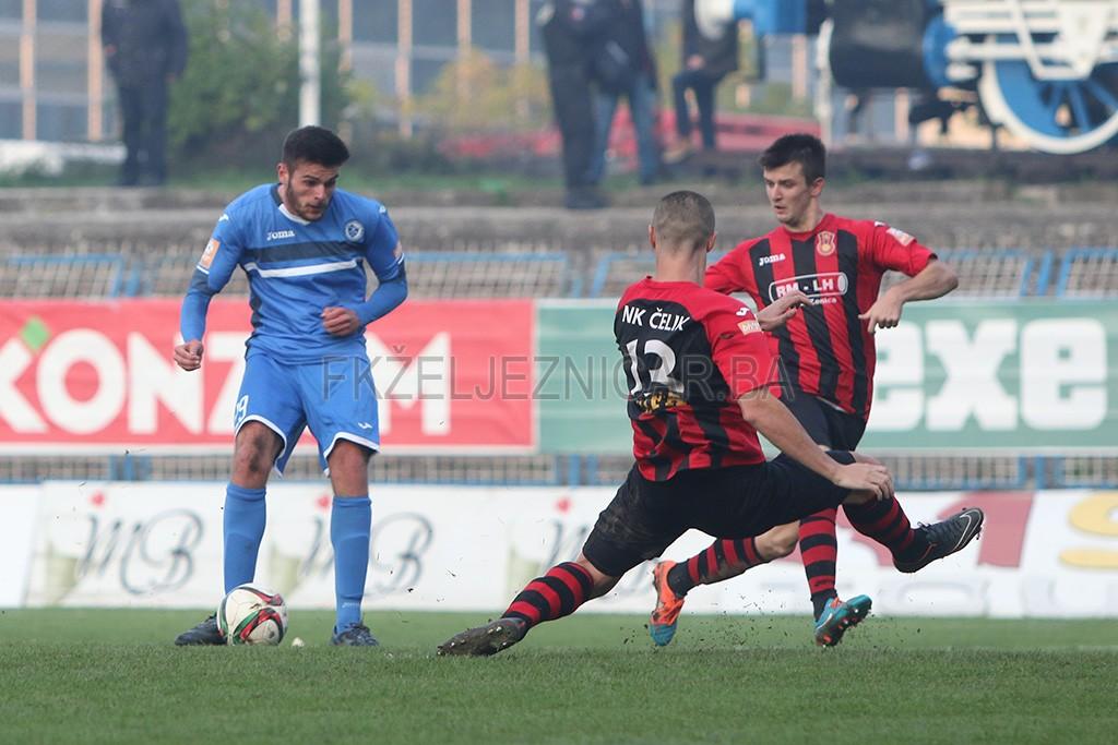 U novembru je na utakmici sa Čelikom debitovao talentovani Ajdin Mujagić, te je odmah na prvoj svojoj utakmici postigao pogodak.  Foto: Damir Hajdarbašić, fkzeljeznicar.ba