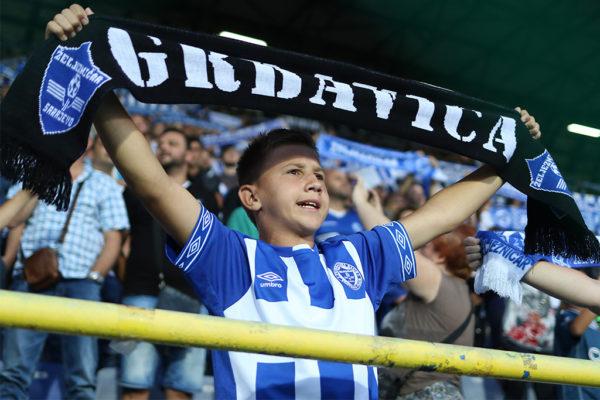 FK Željezničar - HŠK Zrinjski; Navijači