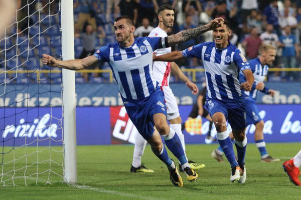 FK Željezničar - HŠK Zrinjski; Bojo, Krpić