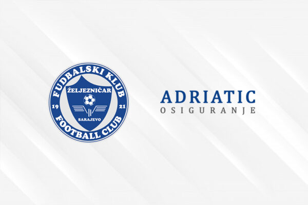 FK Zeljeznicar Adriatic osiguranje