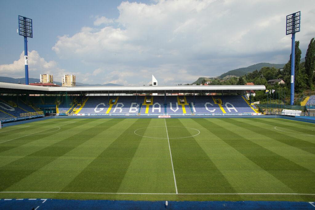 Stadion Grbavica FK Zeljznicar FK Velez