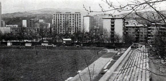 Stadion Grbavica 1975.